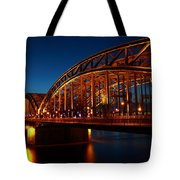 Hohenzollern Bridge Tote Bag