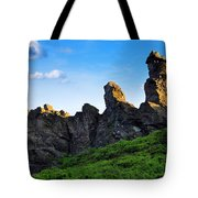 Hoher Stein Kraslice Czech Republic Tote Bag by Aged Pixel