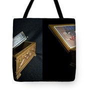 Hohner Chromonica - Cross Your Eyes And Focus On The Middle Image Tote Bag