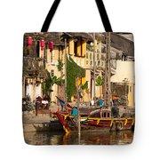 Hoi An Fishing Boat 02 Tote Bag