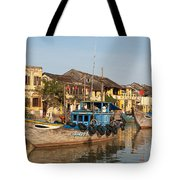 Hoi An Fishing Boats 03 Tote Bag