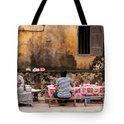 Hoi An Noodle Stall 03 Tote Bag