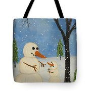 Hold Me I'm Cold Tote Bag
