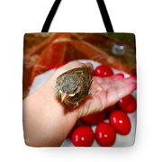 Holding A Newborn Bird Tote Bag