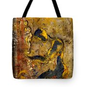 Holding An Image Of Myself Tote Bag