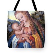 Holding My Face Tote Bag