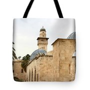 Holding Out Tote Bag