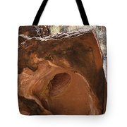 Hole-in-one Rock Tote Bag