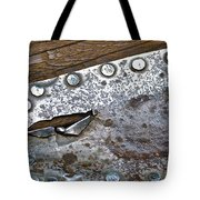 Hole Patch 3 John Muir Woods Tote Bag