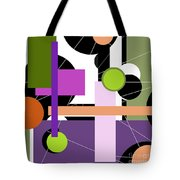 Holes And Pegs Tote Bag