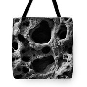 Holes Of Time Tote Bag by Riad Belhimer