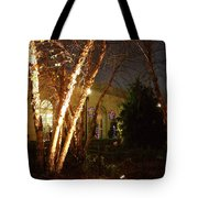 Holiday Birches Tote Bag