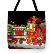 Holiday Express Tote Bag