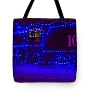 Holiday Express Train Tote Bag
