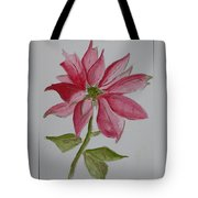 Holiday Flower Tote Bag