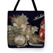Holiday Greeting Tote Bag