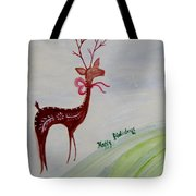 Holiday Greetings Tote Bag