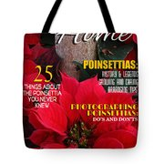 Holiday Home Magazine Cover Tote Bag