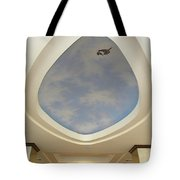 Holiday Inn Express Ceiling Dome Mural Tote Bag