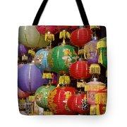Chinese Holiday Lanterns Tote Bag