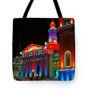 Holiday Lights 2012 Denver City And County Building B2 Tote Bag