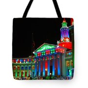 Holiday Lights 2012 Denver City And County Building C1 Tote Bag