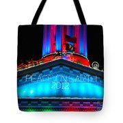 Holiday Lights 2012 Denver City And County Building E3 Tote Bag
