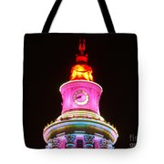 Holiday Lights 2012 Denver City And County Building F4 Tote Bag