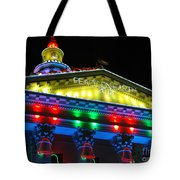 Holiday Lights 2012 Denver City And County Building L5 Tote Bag