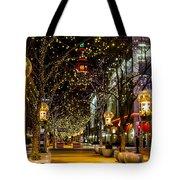 Holiday Lights In Denver Colorado Tote Bag