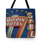 Holiday Motel Las Vegas Tote Bag by Edward Fielding