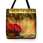 Holiday News Tote Bag