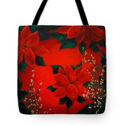 Holiday Pedals Tote Bag