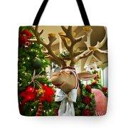 Holiday Reindeer Tote Bag