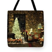 Holiday Sleigh Hsp Tote Bag