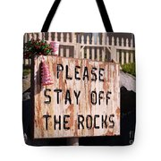 Holiday Straight Up Tote Bag by Laurie Lundquist