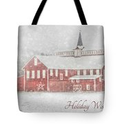 Holiday Wishes Tote Bag
