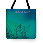 Holiday With Nature Tote Bag
