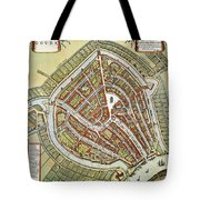 Holland: Gouda Plan, 1649 Tote Bag