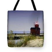 Holland Harbor Light  Tote Bag