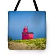Holland Harbor Lighthouse Mi Tote Bag