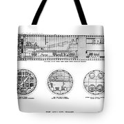 Holland Tunnel Construction Tote Bag