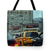 Holland Tunnel Traffic Tote Bag