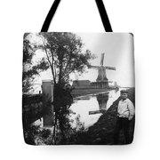 Holland Windmill, C1906 Tote Bag