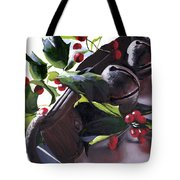 Holly And Bells Tote Bag