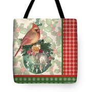 Holly And Berries-a Tote Bag