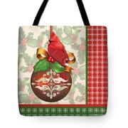 Holly And Berries-b Tote Bag