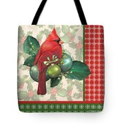 Holly And Berries-d Tote Bag