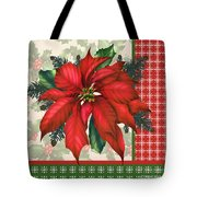 Holly And Berries-h Tote Bag