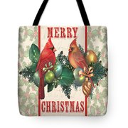 Holly And Berries-i Tote Bag